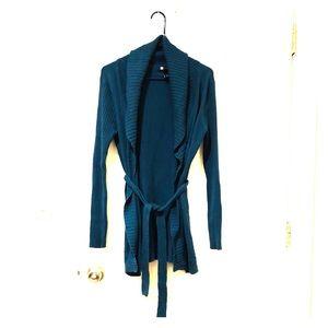 Blue cardigan by Carole little